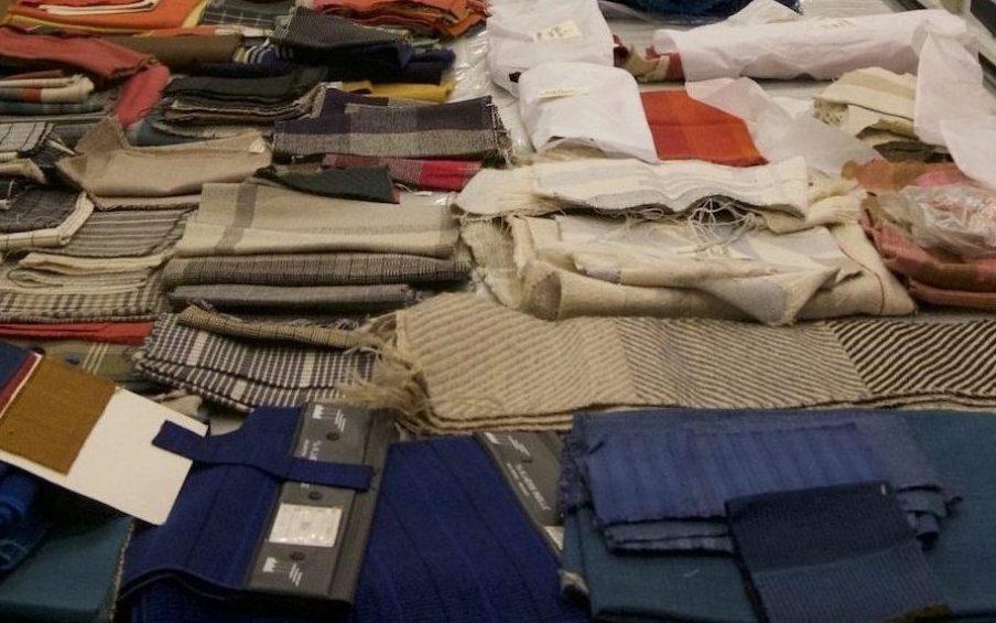 Tekstilikon Vibeke Klint fylder 90