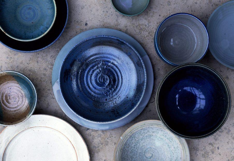 Keramik og interiør i den nye Noma-restaurant